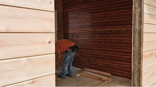怎么更好的安装外墙轻松木墙板(下)-新弘瑞森