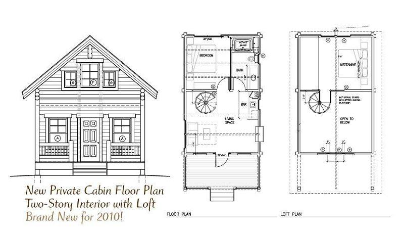 欧式木屋设计图