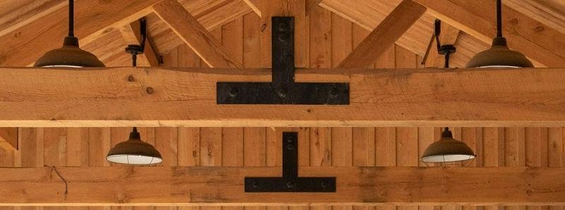 胶合木梁柱