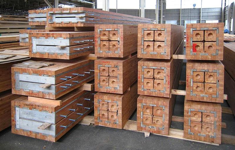 耐火胶合木结构