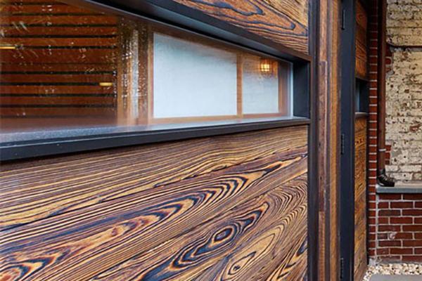 碳化木墙面装饰