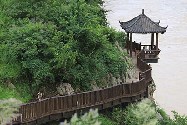 樟子松防腐木景观工程