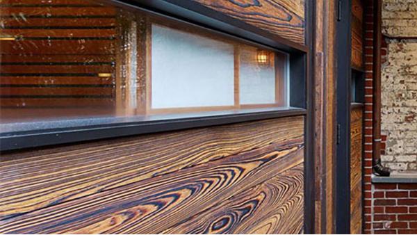 碳化木饰面的制作方法
