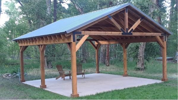 使用胶合木材料建造木屋的优势