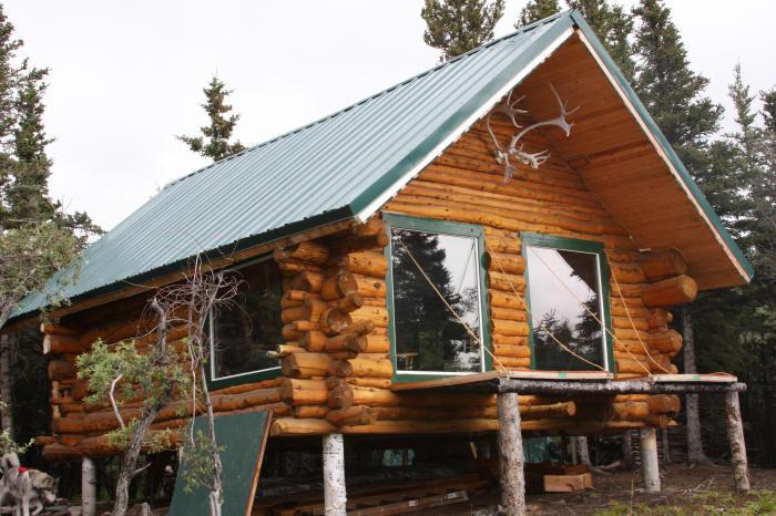 胶合木木屋