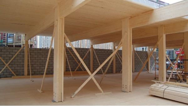 胶合木木木屋的前景趋势