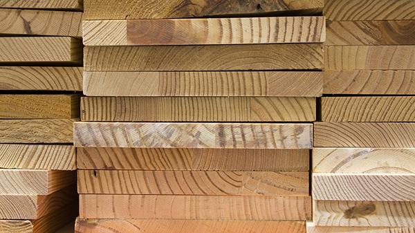 芬兰松防腐木原料样例