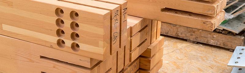 胶合木材料