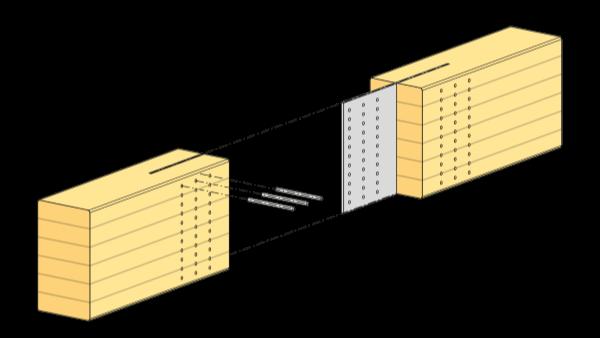 胶合木的连接组件(一)