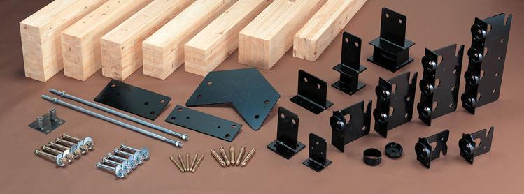 胶合木组件