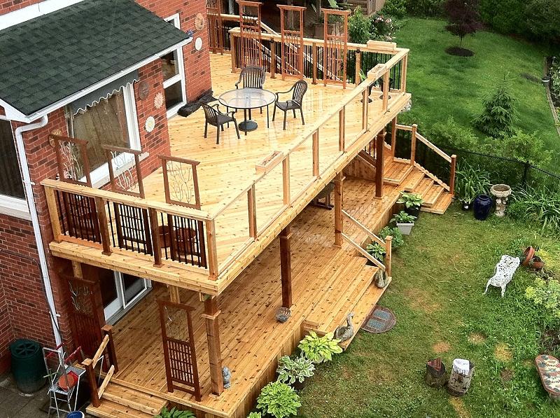 防腐木工程建筑