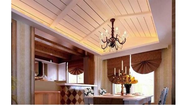 阳台吊顶选材为什么常常选用桑拿板?