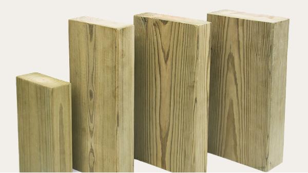 进口芬兰防腐木的类别与应用方式